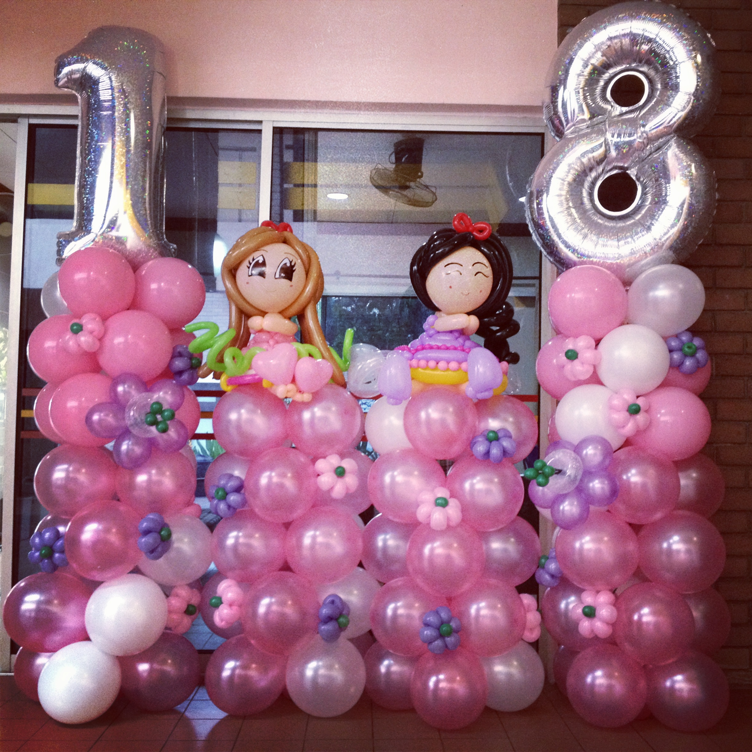 18th birthday party that balloons for 18th birthday party decoration