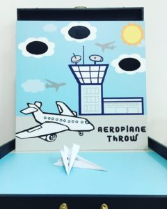 Aeroplane Throw Carnival Game Stall