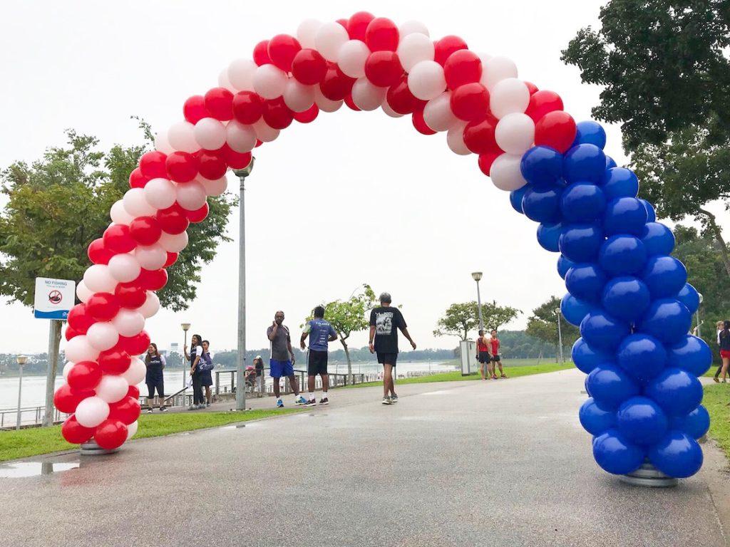 American Balloon Arch Decoration