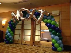 Balloon Arch for Entrance