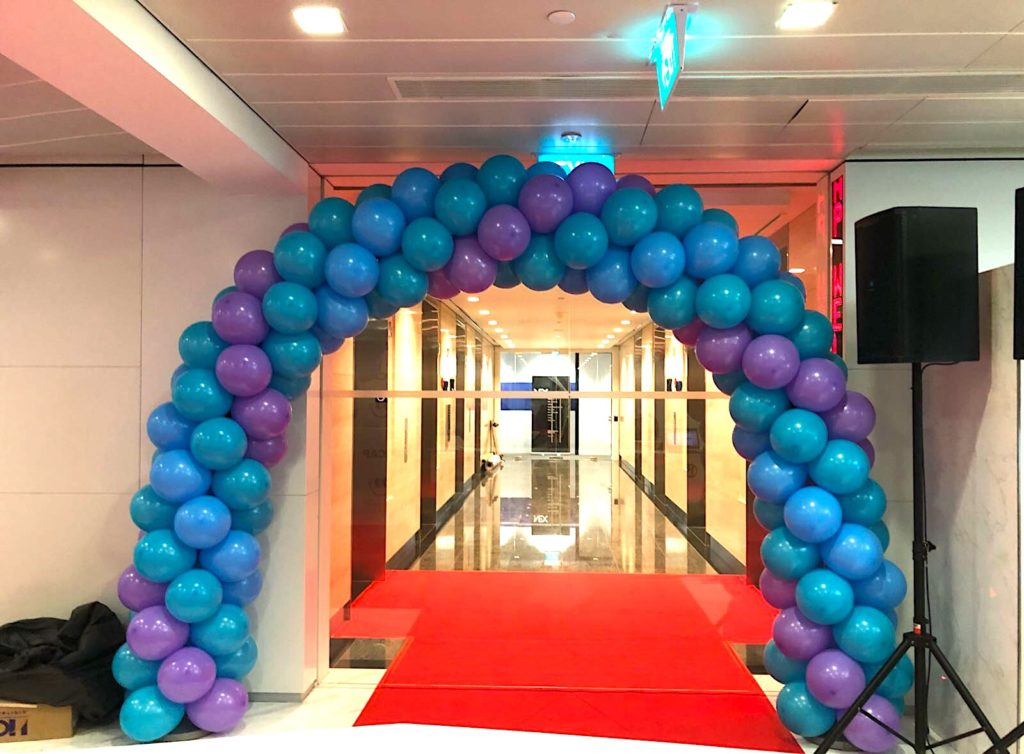 Balloon Arch for ICAP