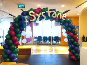 Balloon Arch for Systane