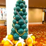 Balloon Christmas Tree with Presents copy