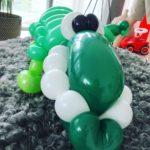 Balloon Crocodile Sculpture