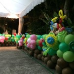 Balloon Garden Borders