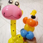 Balloon Giraffe and Balloon Duck