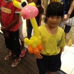 Balloon Giraffe by Kaden