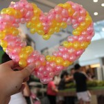 Balloon Heart Sculptur