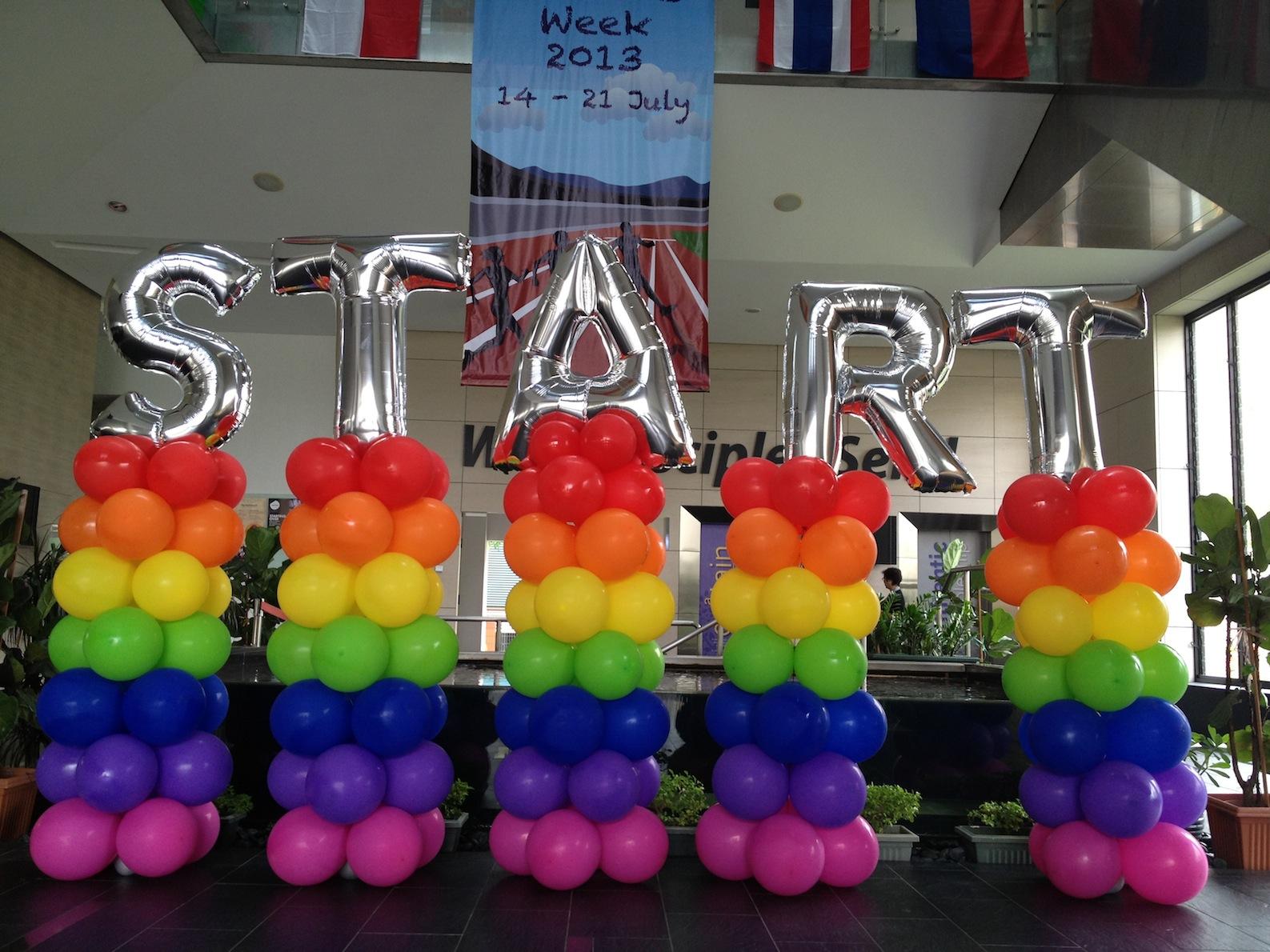 Balloon Pillar THAT Balloons
