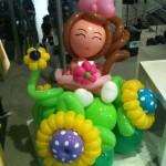 Balloon Princess Display