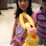 Balloon Rabbit Sculpture