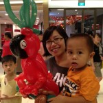 Balloon Red Parrot