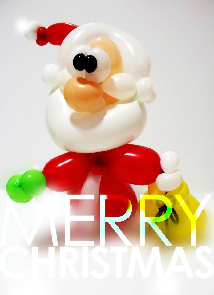 Balloon Santa Claus - For christmas Events