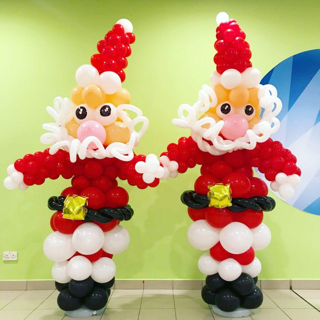 Balloon Santa Claus Sculpture