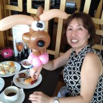 Balloon Sculpting at Restaurant