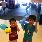 Balloon Sculpting at Shopping Mall