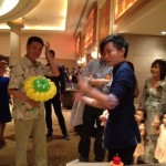 Balloon Sculpting at Wedding Event