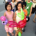 Balloon Sculptor for events