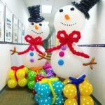 Balloon Snowman Sculpture copy