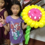 Balloon Sunflower in Singapore