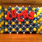 LUCAS Balloon Backdrop Display
