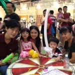 Balloon Workshop at the central clark quay