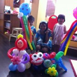 Balloons for birthday party