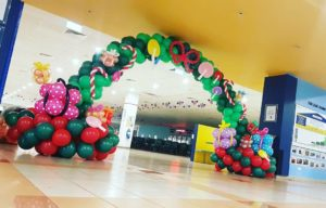Christmas Balloon Arch Singapore