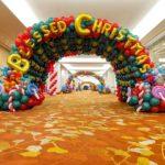 Christmas Balloon Tunnel New Creation Church Singapore