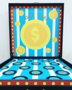 Coin Toss Carnival Game Stall