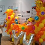 Customised Balloon Backdrop Display