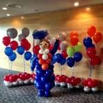 Customised Balloon Display for graduation