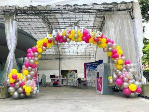 Large Organic Balloon Arch