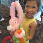 Rabbit Balloon Sculpture