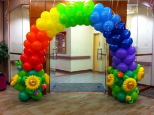 Singapore Balloon Rainbow Arch
