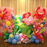 Singapore Balloon underwater and mermaid display