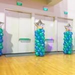 Star Balloon Columns Pillars