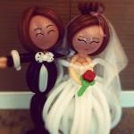Wedding Couple Balloon Sculpture