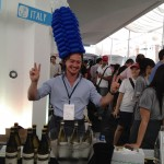 Wine Bottle Hat by Kaden