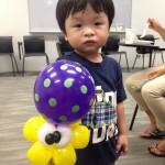 Wrist Balloon Octopus in Singapore