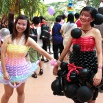 balloon dress for event in Singapore