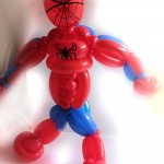 spiderman balloon sculpture