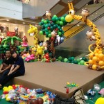 Balloon Animal Arch by Lily Tan