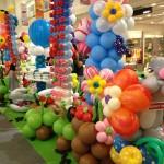 Balloon Deco in Shopping mall