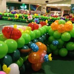 Balloon Decorations at United Square