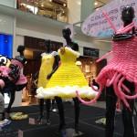 Balloon Dress Display at The Central