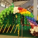 Balloon Entrance by Kaden Tan