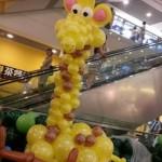 Balloon Giraffe Display