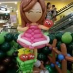 Balloon Girl Display