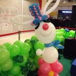 Balloon Rabbit Display